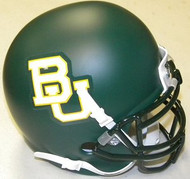 Baylor Bears Alternate Green Schutt NCAA College Football Authentic Team Mini Helmet