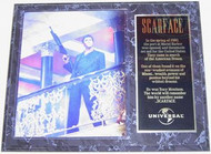 Al Pacino Scarface 15 x 12 Movie Plaque - scarfacepl2