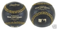 Rawlings Official Black With Gold Stitching Major League Baseball 1 Dozen