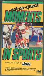 Not-So-Great Moments In Sports Sports Illustrated VHS