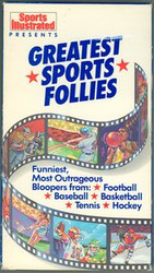 Greatest Sports Follies Sports Illustrated VHS