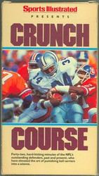 Crunch Course NFL Sports Illustrated VHS