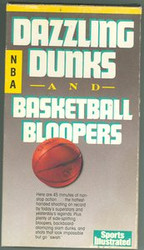 Dazzling Dunks And Basketball Bloopers NBA Sports Illustrated VHS