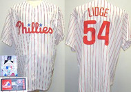 Brad Lidge Philadelphia Phillies Majestic Home Custom XL Jersey