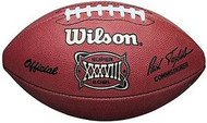Super Bowl 38 XXXVIII Wilson Official NFL Game Football Carolina Panthers vs. New England Patriots