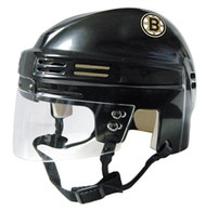 Boston Bruins NHL Black Player Mini Hockey Helmet
