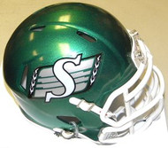 Saskatchewan Rough Riders Riddell CFL Replica Revolution SPEED Mini Helmet