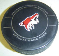 Phoenix Coyotes 2010-2012 Design NHL Team Sher-Wood Official Ice Hockey Game Puck