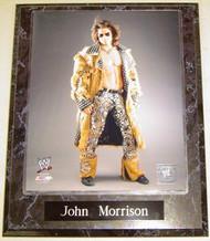 John Morrison WWE Wrestling 10.5x13 Plaque