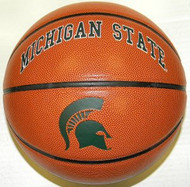 Michigan State Spartans NCAA Rawlings Triple Threat Full Size Basketball