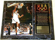 Dwight Howard Team USA Olympic Games 15x12 Gold Medal Plaque