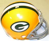 Green Bay Packers 1961-1979 Z2B Riddell NFL Replica Throwback Mini Helmet