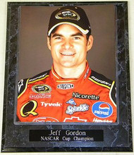 Jeff Gordon 10.5x13 NASCAR Cup Champion Plaque
