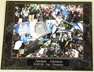 Jimmie Johnson 10.5x13 NASCAR Cup Champion Plaque