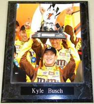Kyle Busch NASCAR 10.5x13 Plaque
