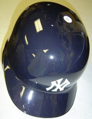 New York Yankees Rawlings Full Size Authentic Left Handed Batting Helmet - Right Flap Regular