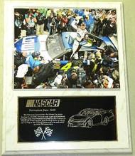 Jimmie Johnson 12x15 Custom NASCAR Racing Plaque