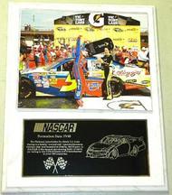 Mark Martin 12x15 Custom NASCAR Racing Plaque