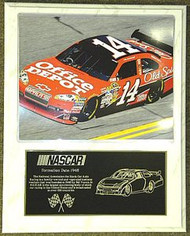 Tony Stewart 12x15 Custom NASCAR Racing Plaque