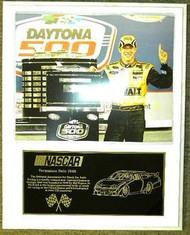 Matt Kenseth Daytona 500 Champion 12x15 Custom NASCAR Racing Plaque