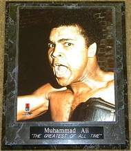 "Muhammad Ali ""THE GREATEST OF ALL TIME"" 10.5x13 Boxing Plaque - muhammadalipl3"