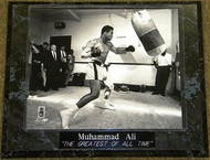 "Muhammad Ali ""THE GREATEST OF ALL TIME"" 10.5x13 Boxing Plaque - muhammadalipl5"