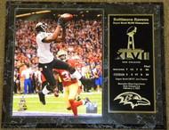 Anquan Boldin Baltimore Ravens Super Bowl XLVII 47 Champions 12x15 Plaque