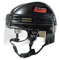 Calgary Flames Black NHL Player Mini Hockey Helmet