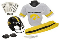 Iowa Hawkeyes Franklin Deluxe Youth / Kids Football Uniform Set - Size Medium