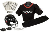 Cincinnati Bearcats Franklin Deluxe Youth / Kids Football Uniform Set - Size Medium