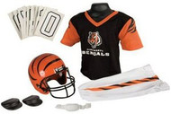 Cincinnati Bengals Franklin Deluxe Youth / Kids Football Uniform Set - Size Medium