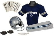 Dallas Cowboys Franklin Deluxe Youth / Kids Football Uniform Set - Size Medium