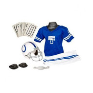 Indianapolis Colts Franklin Deluxe Youth / Kids Football Uniform Set - Size Medium