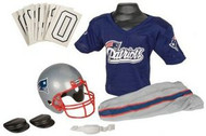 New England Patriots Franklin Deluxe Youth / Kids Football Uniform Set - Size Medium