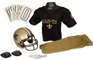 New Orleans Saints Franklin Deluxe Youth / Kids Football Uniform Set - Size Medium