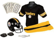 Pittsburgh Steelers Franklin Deluxe Youth / Kids Football Uniform Set - Size Medium