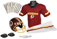 Washington Redskins Franklin Deluxe Youth / Kids Football Uniform Set - Size Medium
