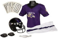Baltimore Ravens Franklin Deluxe Youth / Kids Football Uniform Set - Size Medium