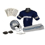 Dallas Cowboys Franklin Deluxe Youth / Kids Football Uniform Set - Size Small