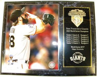 Brian Wilson San Francisco Giants 2010 World Series Champions 12x15 Plaque