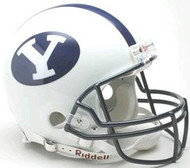 BYU Brigham Young Cougars Riddell NCAA Collegiate Authentic Pro Line Full Size Helmet