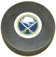 Buffalo Sabres NHL Team Logo Autograph Model Throwback 2012 Hockey Puck