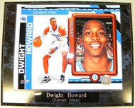 Dwight Howard Orlando Magic NBA 10.5x13 Plaque
