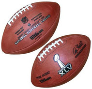 Super Bowl 45 XLV Wilson Official NFL Game Football Green Bay Packers vs. Pittsburgh Steelers