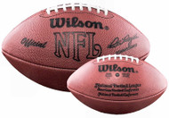 Wilson Official NFL Game Football Pete Rozelle 1960-1989