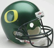 Oregon Ducks Riddell NCAA Collegiate Deluxe Replica Full Size Helmet