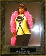 Amber Riley Glee Actress 10.5x13 Plaque