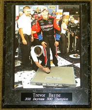Trevor Bayne 2011 Daytona 500 Champion 10.5x13 NASCAR Plaque - trevorbaynepl3