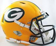 Green Bay Packers Riddell NFL Authentic Revolution SPEED Pro Line Full Size Helmet