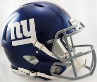 New York Giants Riddell NFL Authentic Revolution SPEED Pro Line Full Size Helmet
